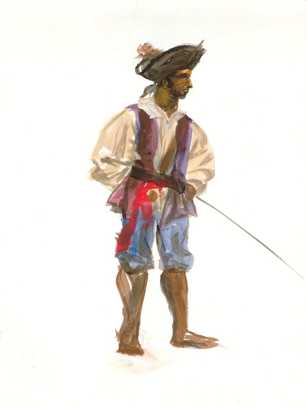 Croquis pirate