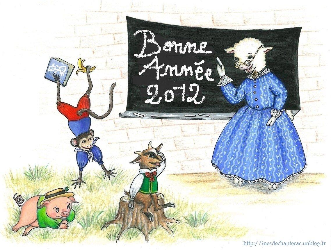 Bonne Année ! dans bestioles diverses voeux-2-0123