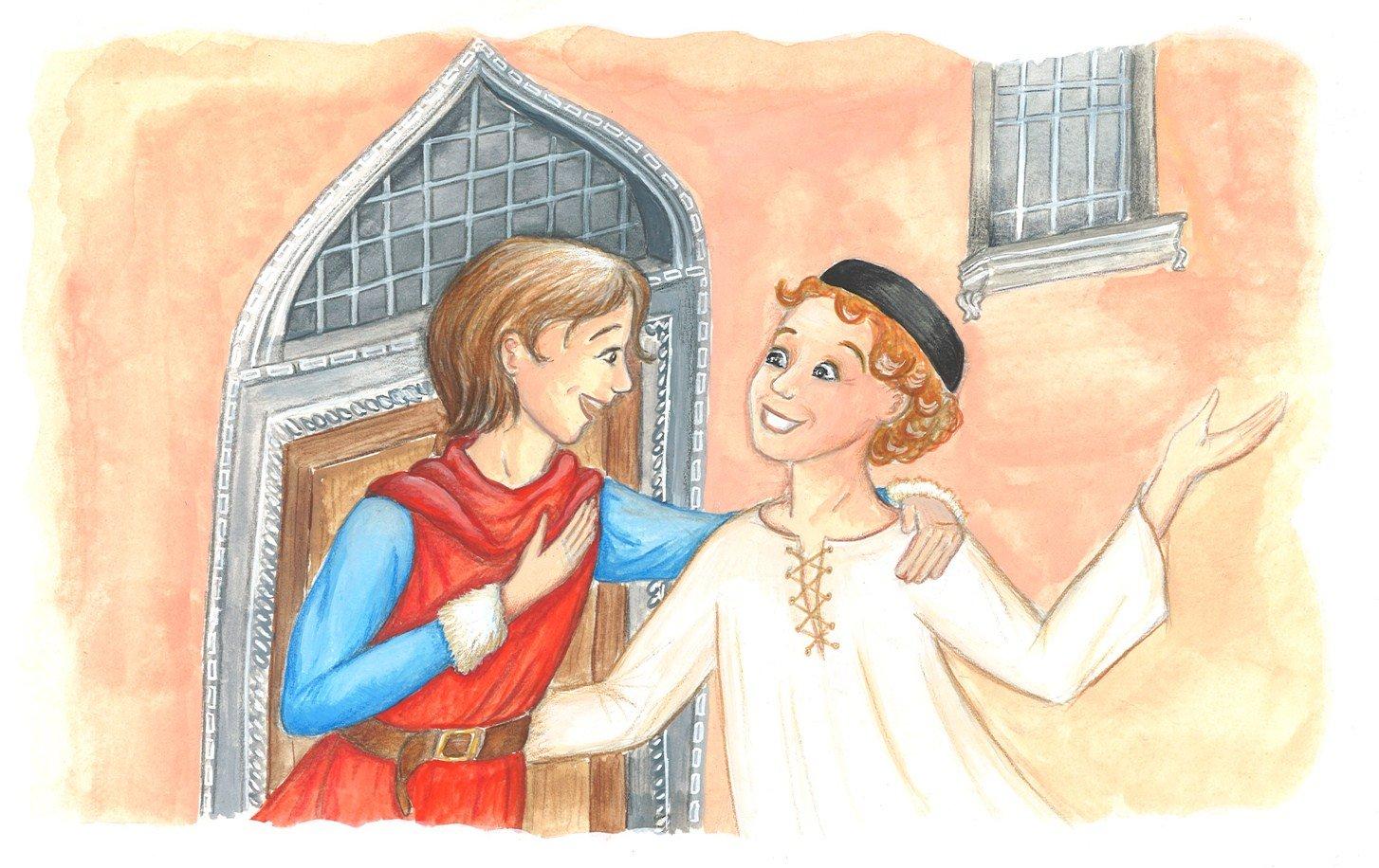 Aventures de Marco Polo, pour le N° d'août du magazine Patapon dans personnages marco-polo-et-son-ami-mail2