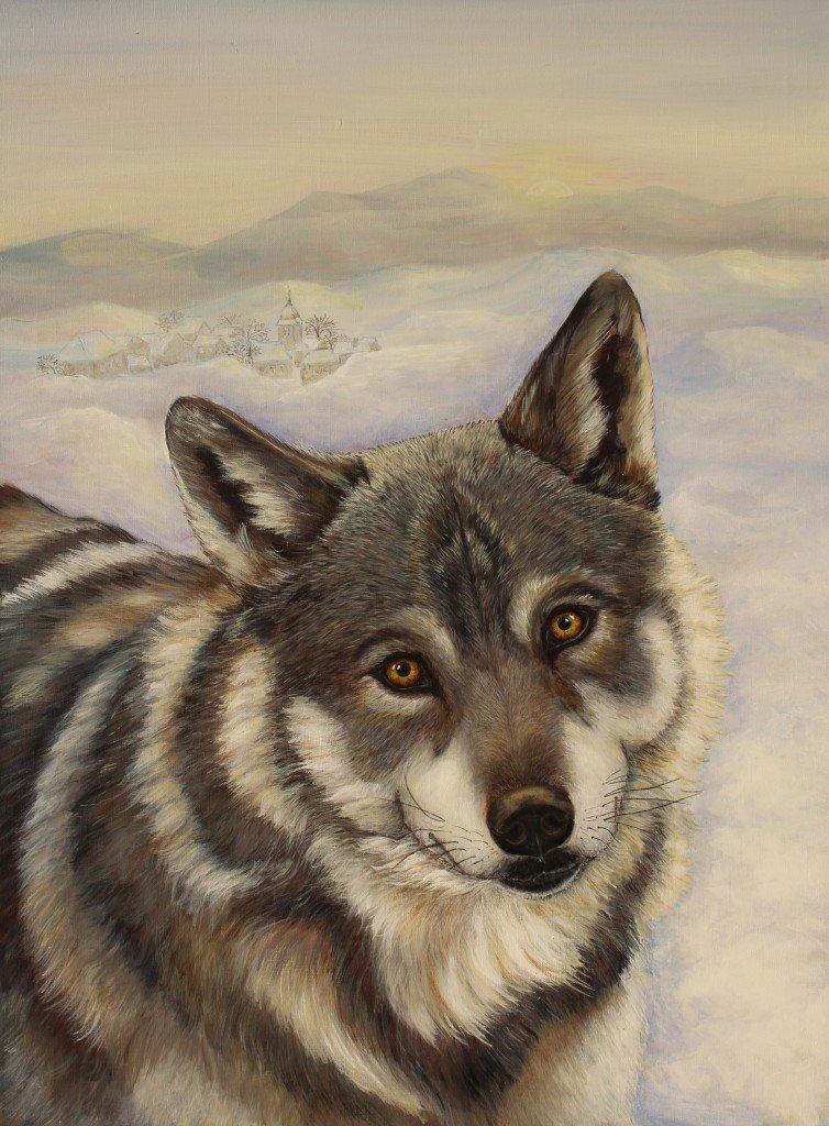 Loup dela forêt de Chaux