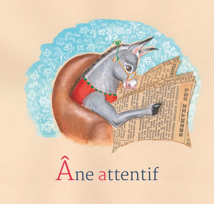 1- Âne attentif