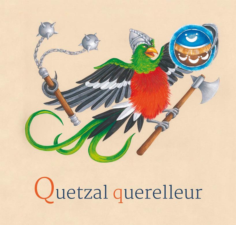 19- Quetzal querelleur