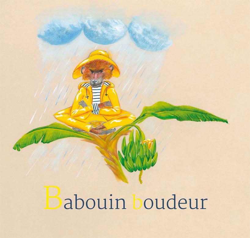 2- Babouin boudeur