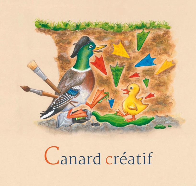 3 - Canard créatif