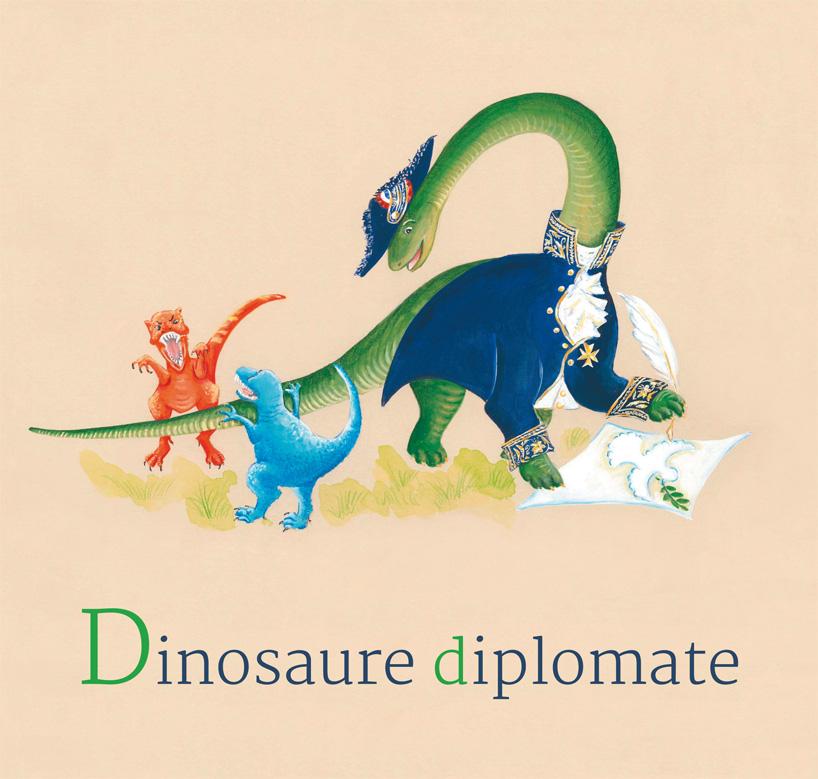 4- Dinosaure diplomate